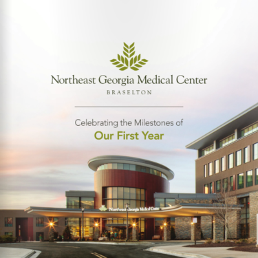 NGMC Braselton One Year Anniversary Booklet